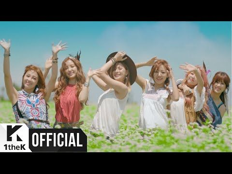 Apink got me falling in love with them again. This MV is really good, and the song, GREEEAAT!!