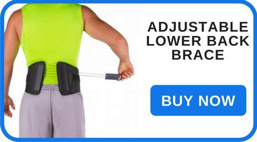 Adjustable Lower Back Brace for Spinal Stenosis