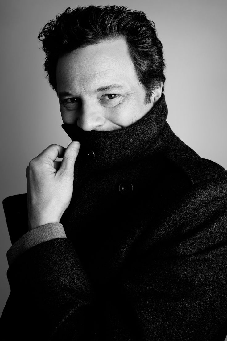 Colin Firth in Rankin's new book Rankin Portraits