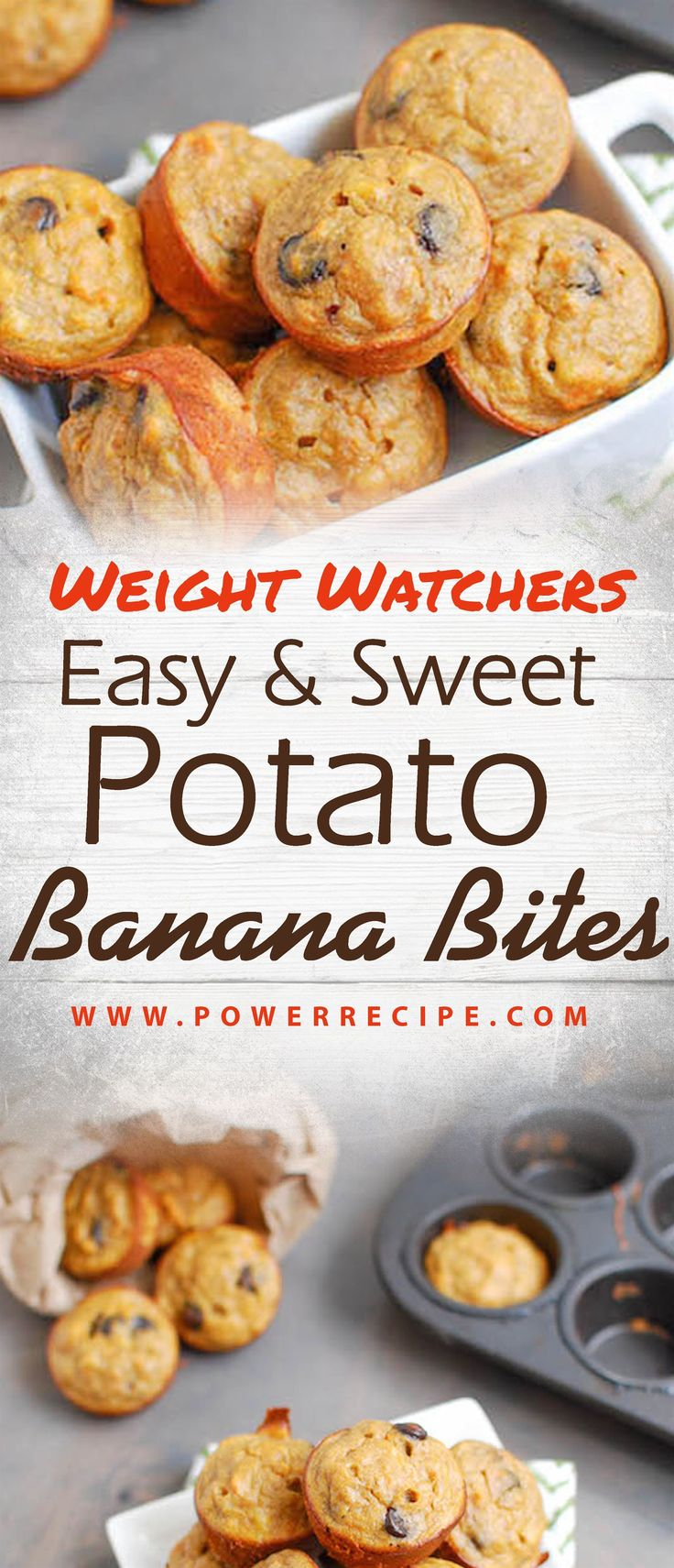Weight Watchers Easy & Sweet Potato Banana Bites!!! - All about Your Power Recip...