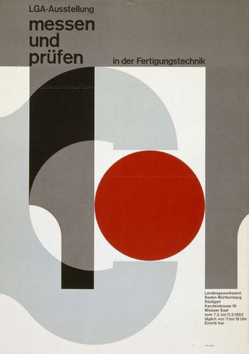 poster by Herbert W. Kapitzki (1962)