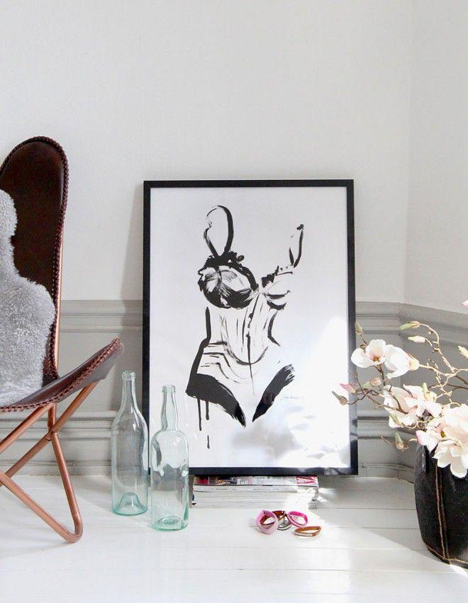 Poster Corset, from Linda Vagnelind and bracelets from Littmarck. #design #poster #art #fashion #jewelry #bracelets #lindavagnelind #littmarck #design #nordicdesigncollective