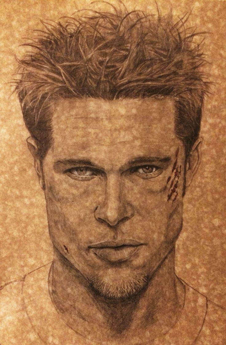 Brad Pitt. By Eliude A Santos