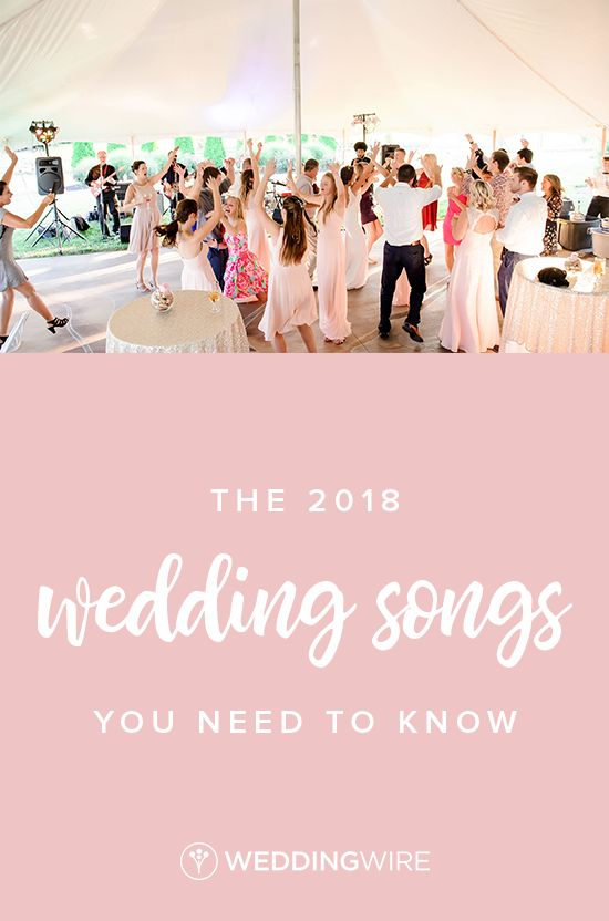 696 best wedding etiquette advice images on pinterest the 2018 wedding songs you need to know junglespirit Image collections
