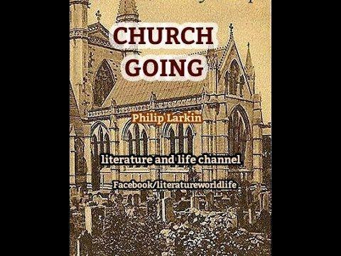 philip larkin church going summary