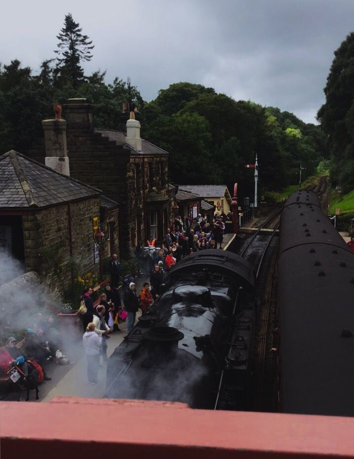 I went to where Hogsmead Station was filmed - Yorkshire #hogwarts #hogsmead #harrypotterfan