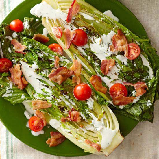 ... Romaine Salad, Blt Inspiration Salad, Classic Blt, Dressings, Salad