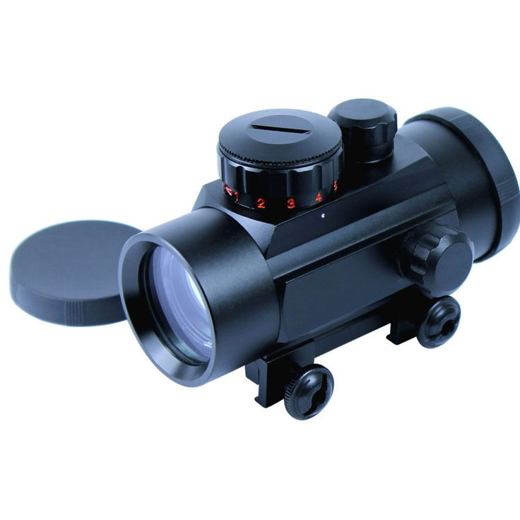 1X30 Hunting Red Dot Sight 20mm Mount for Airsoft Air Guns Sniper Tactical Pistol Resistant Rifle Scopes
