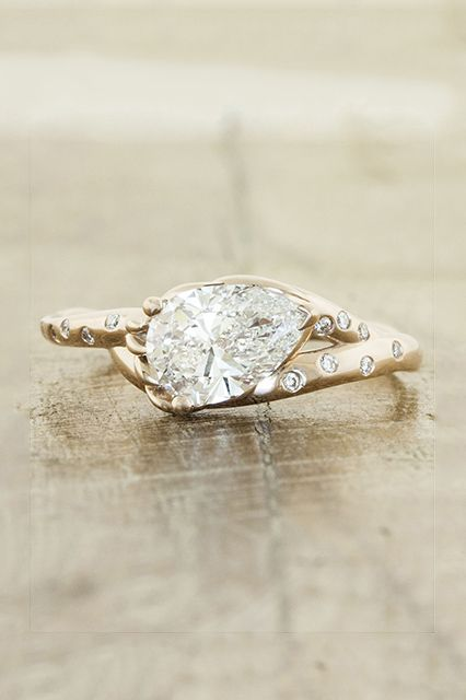 25 Unique Rings For The Offbeat Bride #refinery29 http://www.refinery29.com/67769#slide10