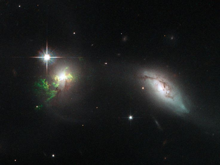 Citizen Scientists Find Green Blobs in Hubble Galaxy Shots; http://www.wired.com/2015/04/citizen-scientists-find-green-blobs-hubble-galaxy-shots/?mbid=social_twitter