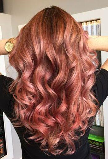 antique rose colore di capelli