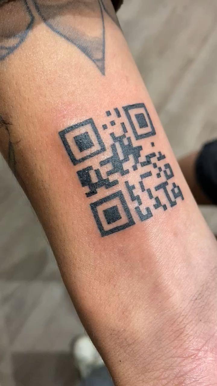 Qr Code Tattoo