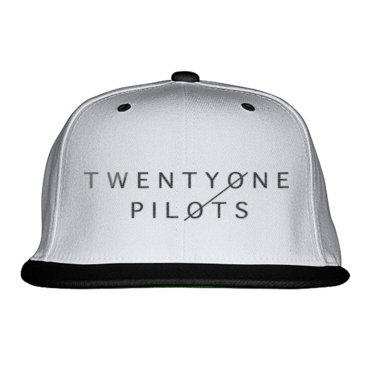 Twenty One Pilots Embroidered Snapback Hat