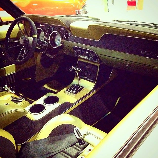 67 Mustang Console ~ Instagram post by tmi products tmiproducts custom