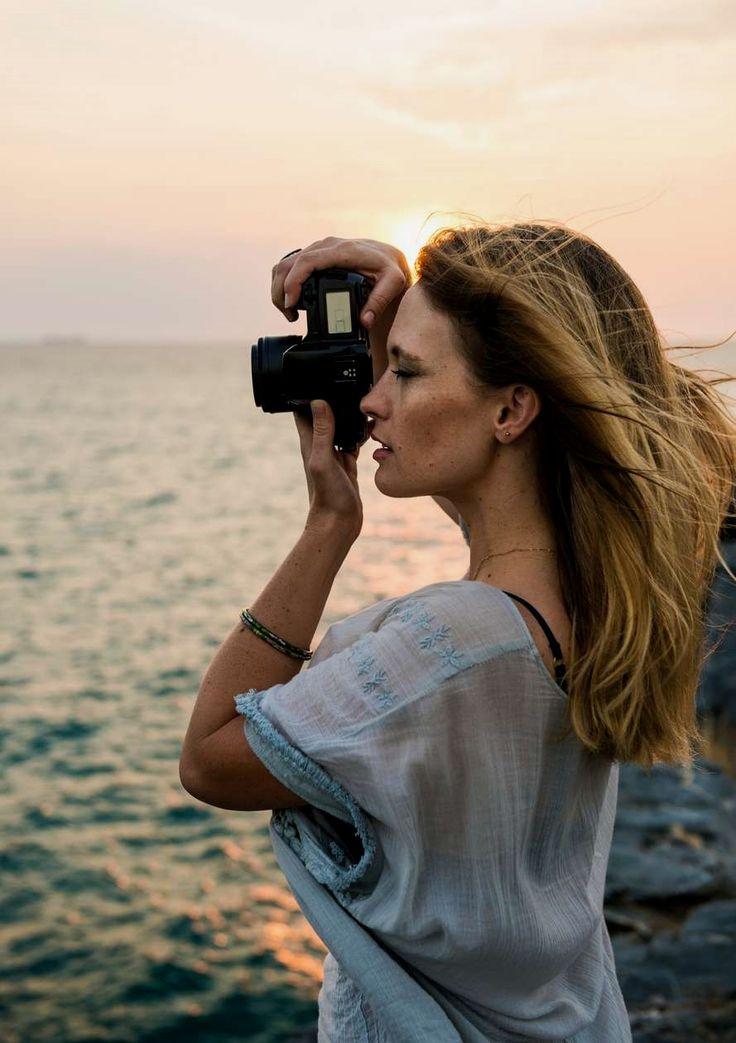 блондинка с фотографом хочу поведать вам