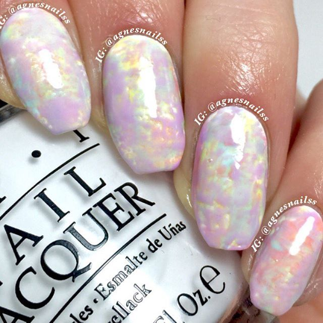 Opal Nails by agnesnailss                                                                                                                                                                                 More