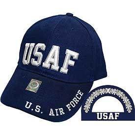 U.S. Air Force USAF Letters Baseball Cap - Meach's Military Memorabilia & More