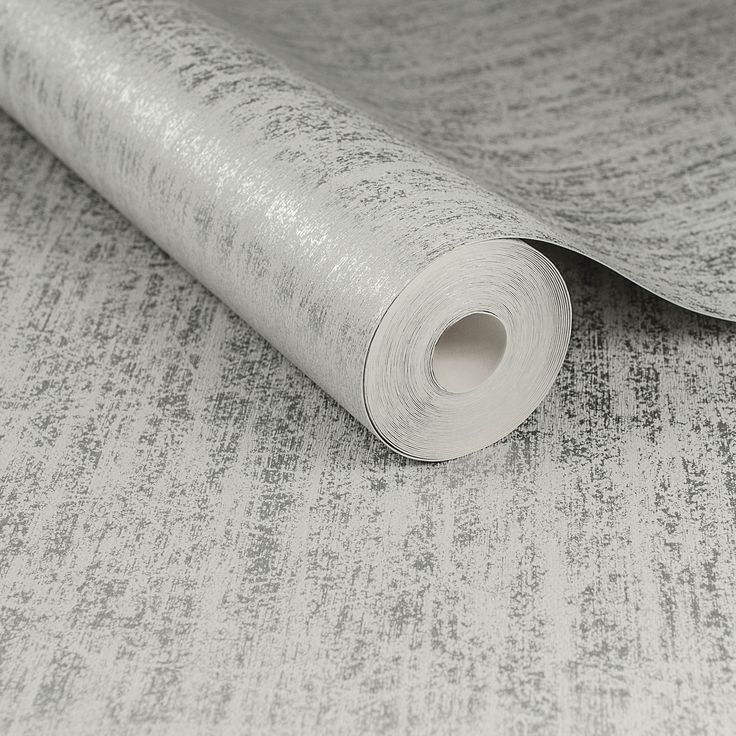 Graham & Brown Boutique Silver Devore Metallic Wallpaper | Departments | DIY at B&Q