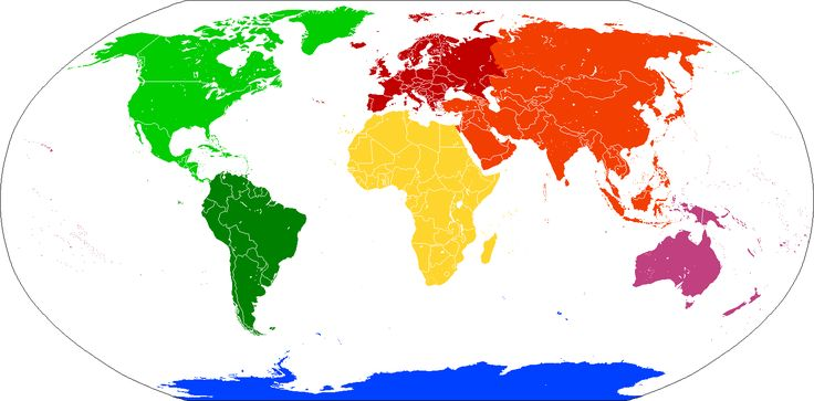 Continents vide couleurs - Earth - Wikipedia
