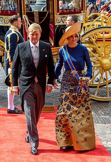 Queen Máxima, Sep 20, 2016 in Fabienne Delvigne | Royal Hats