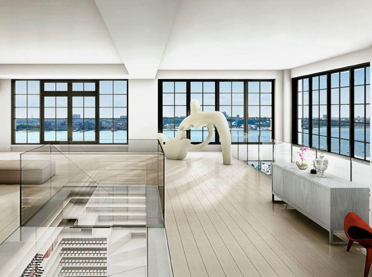 MVRDV presents new york penthouse with car elevator (new york)