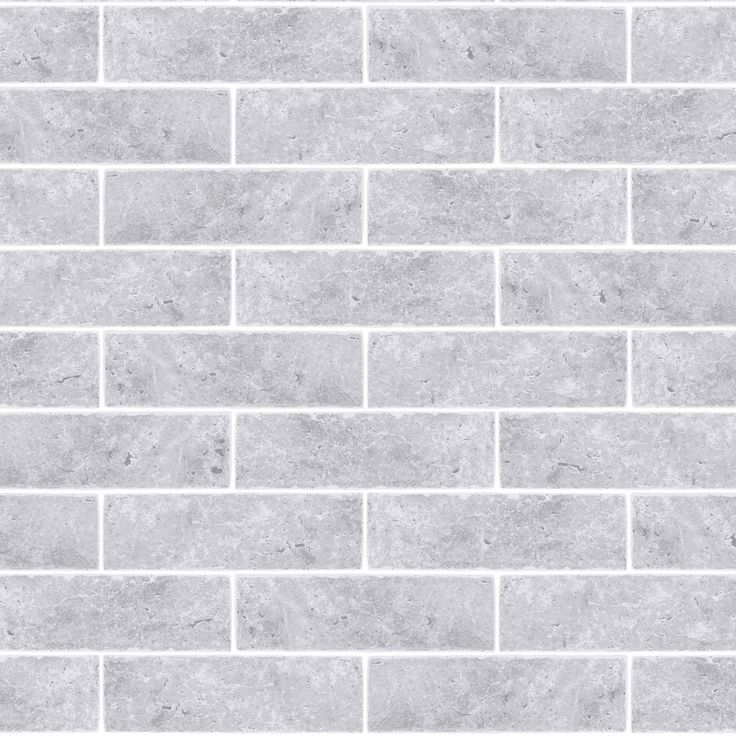 Graham Brown Contour Grey Small Brick Kitchen Bathroom