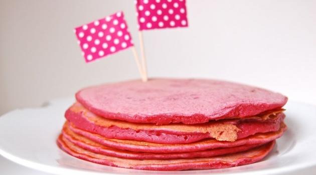 Pink Pancakes