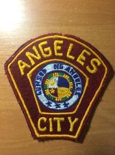 PATCH PHILIPPINES NATIONAL POLICE  (PNP) - ANGELES CITY