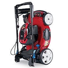 Recycler 22-inch Personal Pace Variable Speed Walk-Behind High Wheel Drive Gas Lawn Mower with Sm...