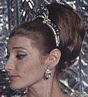 Tiara Mania: Emerald & Diamond Tiara worn by Princess Shahnaz of Iran