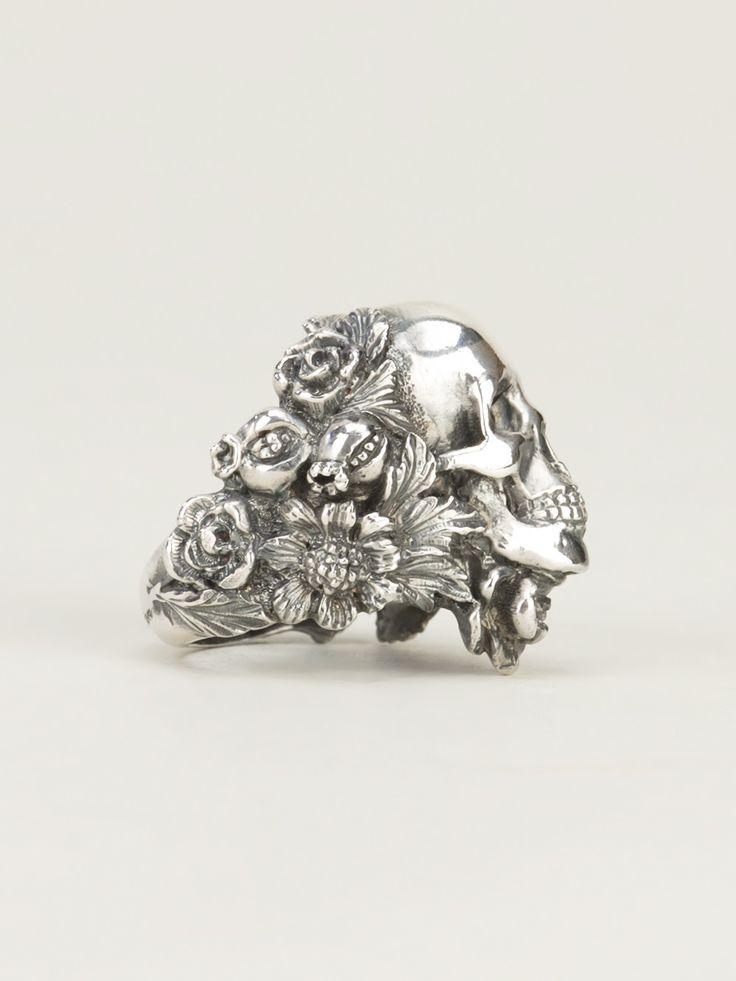 Ugo Cacciatori Skull Ring - Jean Pierre Bua -