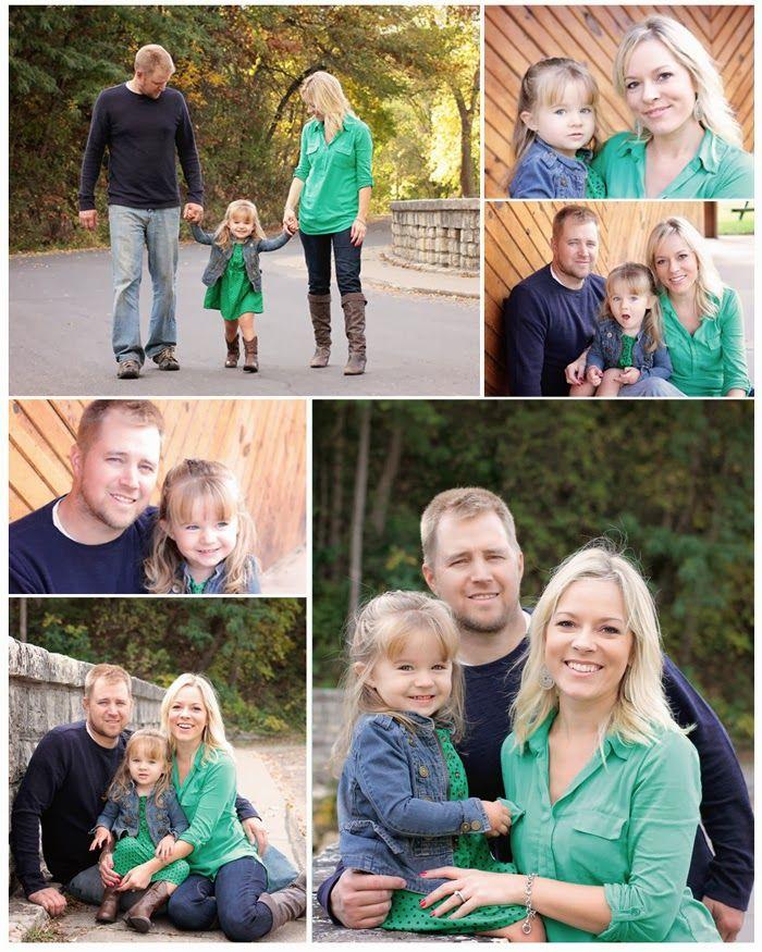 Portraits by Hilary - Fall Family Photos - family of three