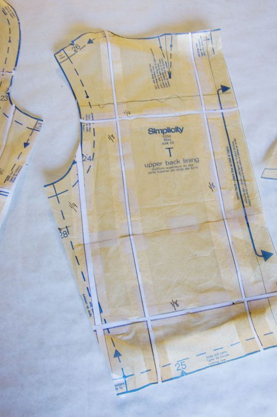 Making the Grade » A Fashionable Stitch Enlarging a pattern that's too small