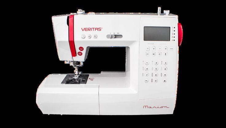 """VERITAS Computer-Nähmaschine """"Marion"""" mit automatischem Fadenabschneider"""