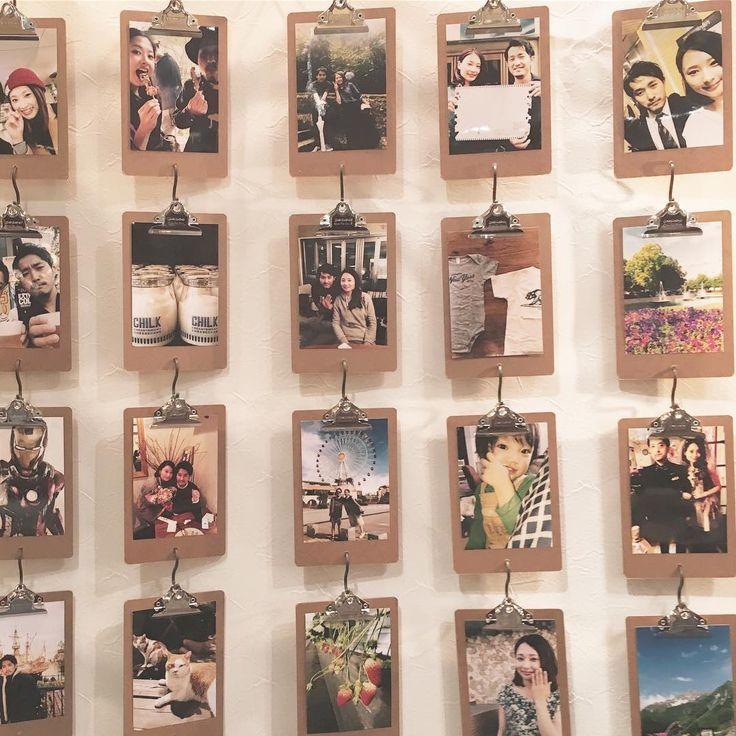 ふたりの写真をたくさん飾りたい♡〔ウェルカムスペース〕に写真をお洒落に飾る方法8選 | marry[マリー]