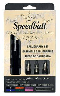 PaperInkArts.com | Speedball Calligraphy Fountain Pen Set