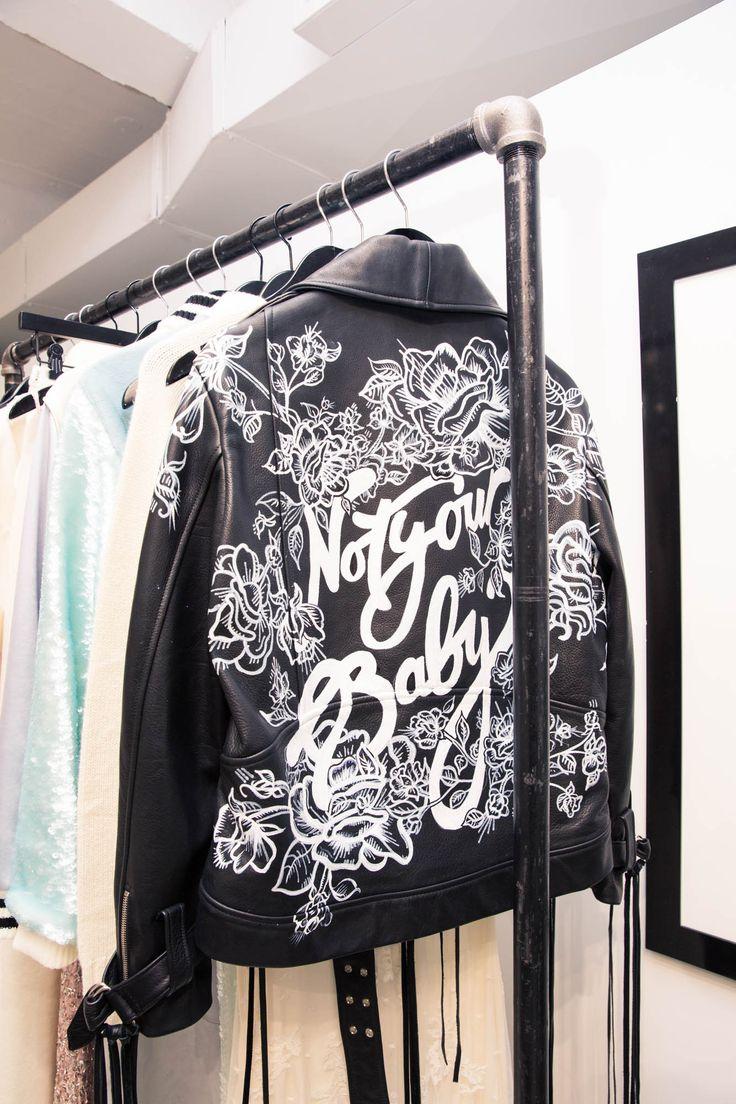 Houghton's Designer Katharine Polk On Untraditional Bridal Design: Not Your Baby Leather Jacket | coveteur.com