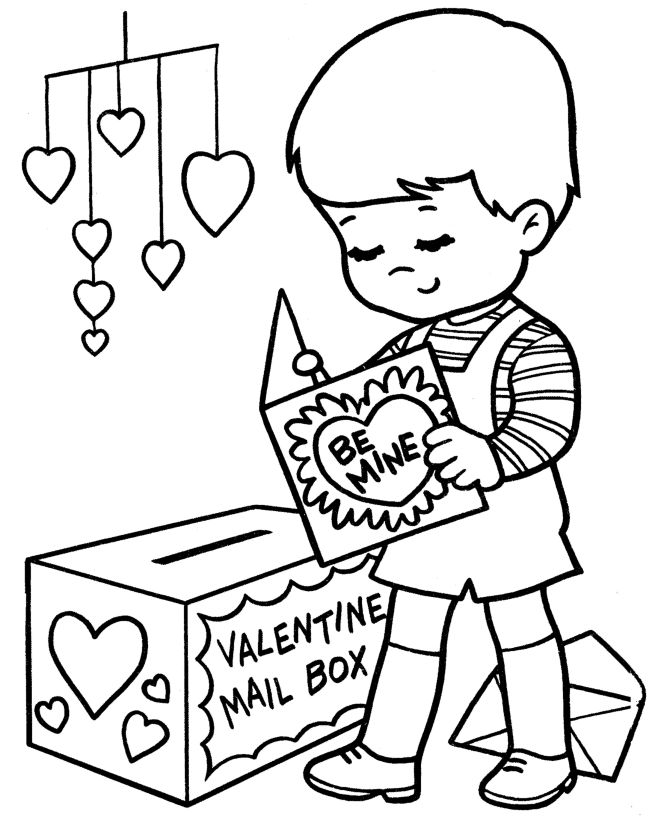 Epic Kids Valentine Coloring Pages 98 Valentine coloring pages are
