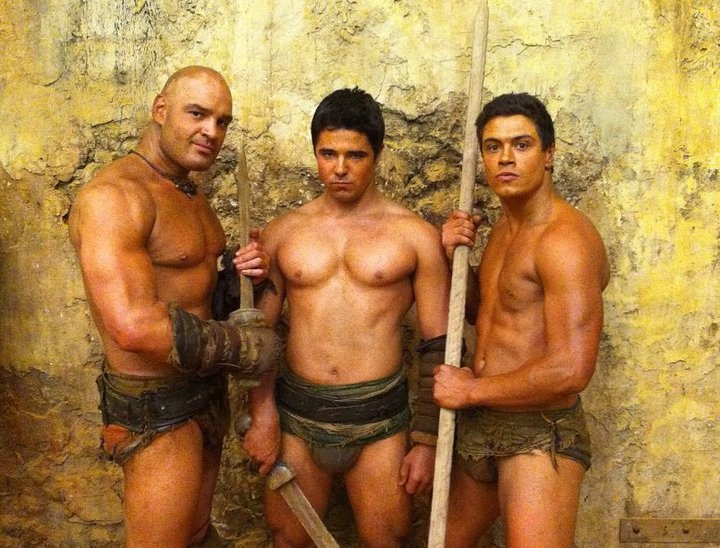 Levi on Spartacus