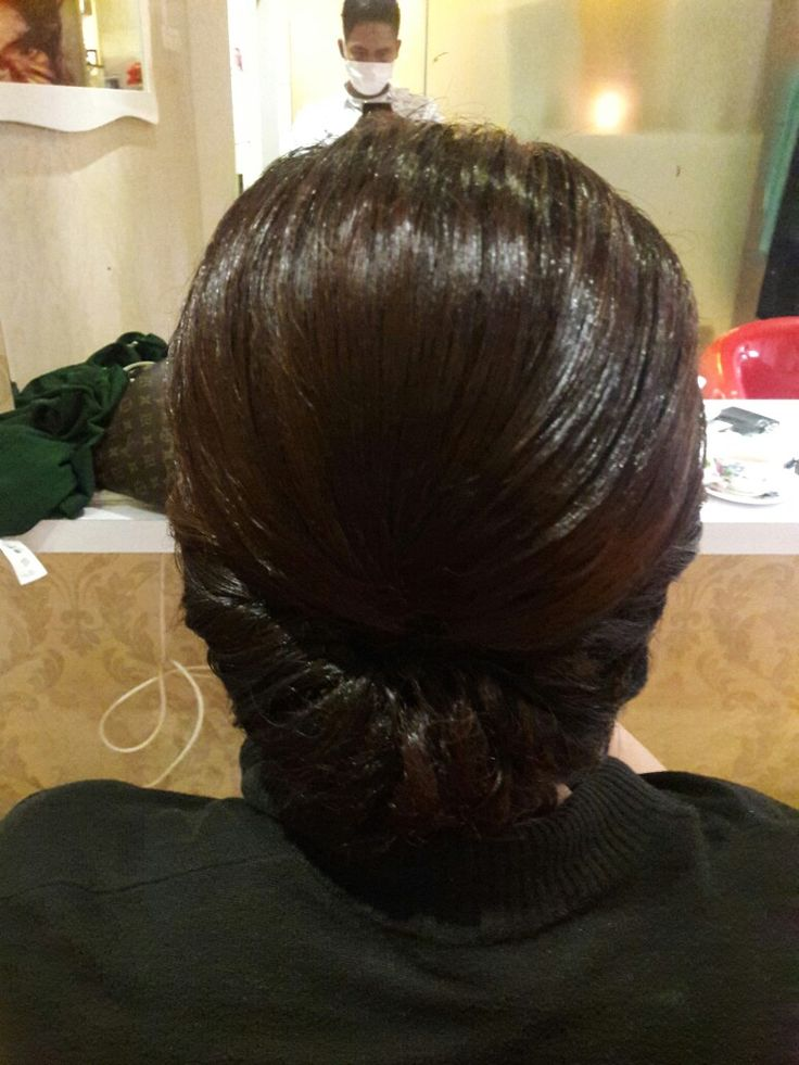 My hair do