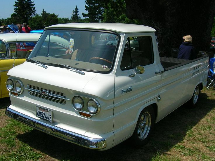 Chevy Truck Wheels >> 1966 Chevy Corvair Rampside | Cool, Classic Pickups, Vans & Such | Pinterest | Cars, Chevrolet ...