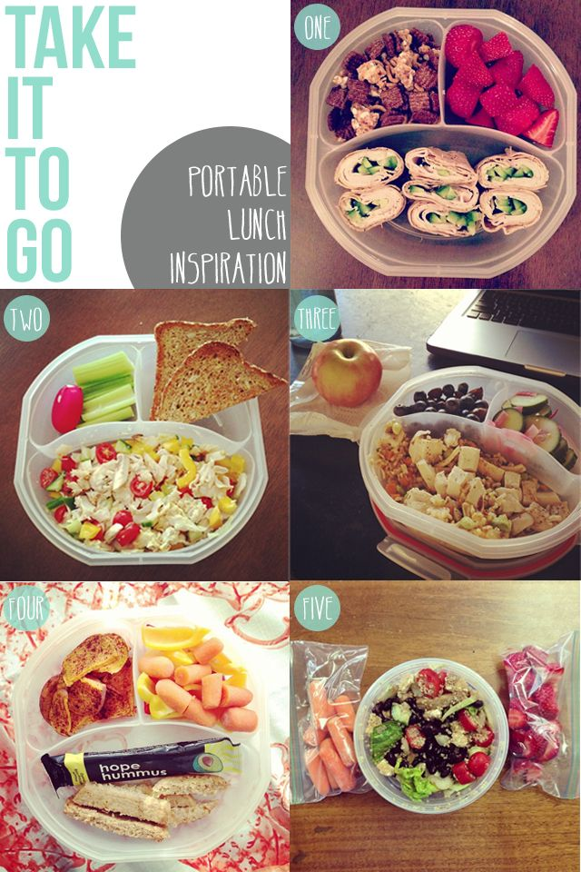 Take yourself from PB to inspired, healthy portable lunches! | The Slender Student