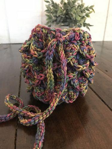 Crocodile Stitch Dndmermaid Bag Pattern By Samantha Bartley
