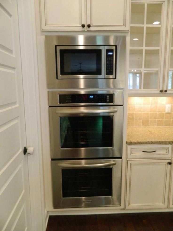Awesome Outdoor Kitchen Appliances Built Ins Detail Is Available On Our Internet Site Check It Out A Double Oven Kitchen Kitchen Oven Kitchen Designs Layout