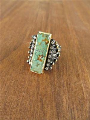Bora Medieval Turquoise Ring