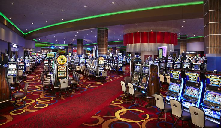 The #Rocksino has over 2200 VLT's! #Ohio #Casino #Gaming