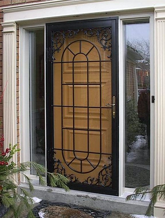 17 Images About Security Screen Doors On Pinterest