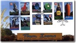Town Icons | New Zealand Post Stamps