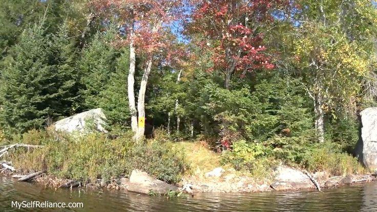 North campsite on McGarvey Lake