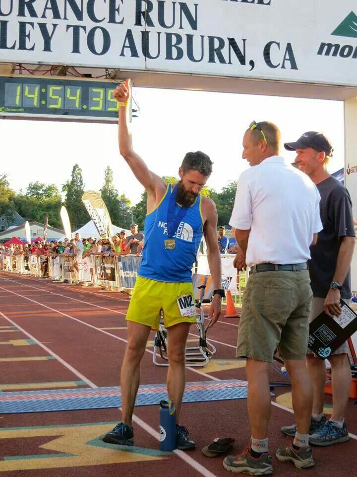 Rob Krar wins the 2014 Western States 100!